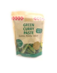 Thai Taste Green Curry Paste [Resealable Pouch] | Buy Online at the Asian Cookshop